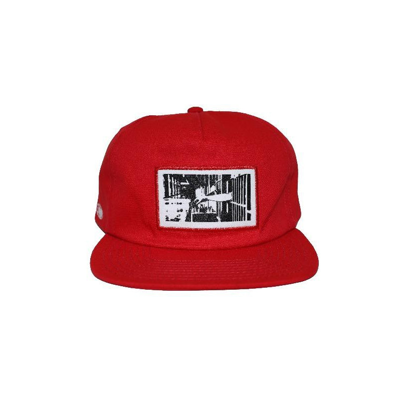 INMATE FORMLESS CAP - RED - Wu Wear