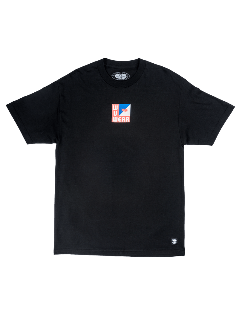 WU TANG LOG LS TEE -  BLACK - Wu Wear