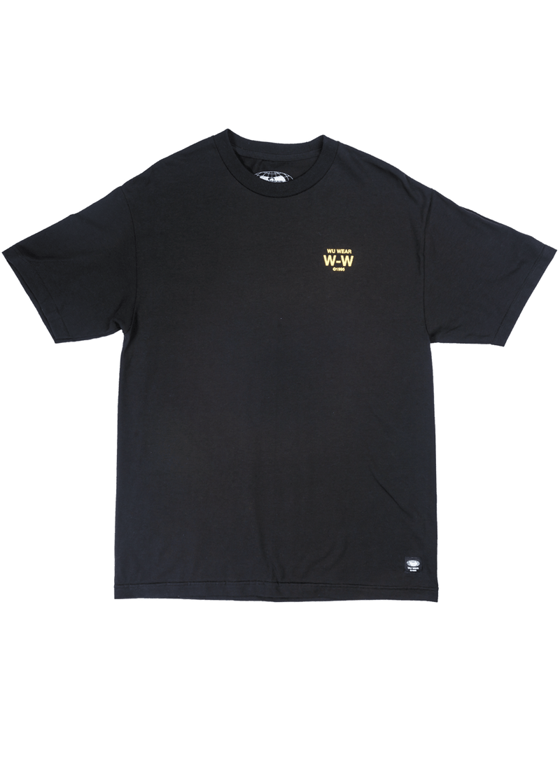 FOUR ICONS TEE - BLACK - Wu Wear