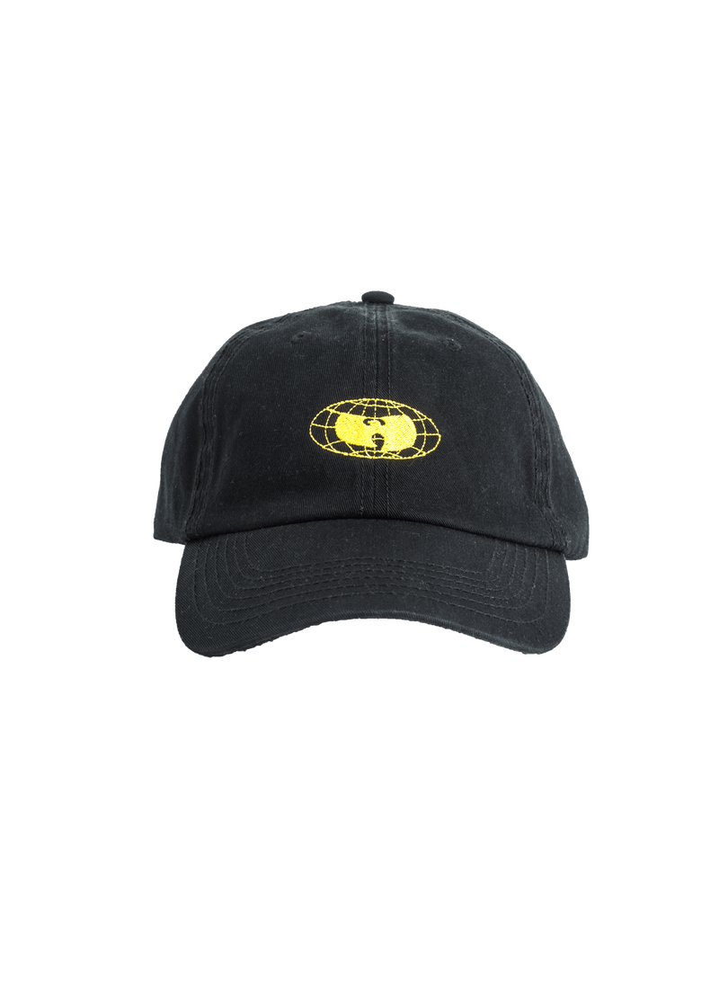 GLOBE LOGO HAT - BLACK - Wu Wear
