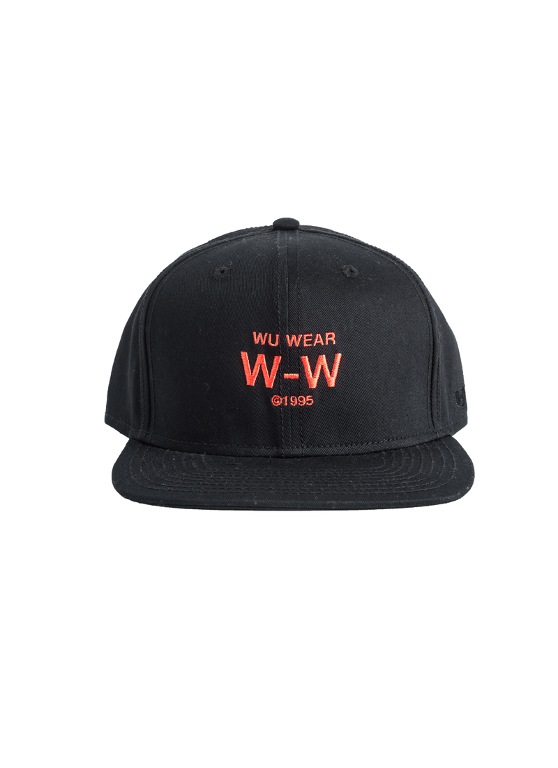 W-W SNAPBACK - BLACK - Wu Wear