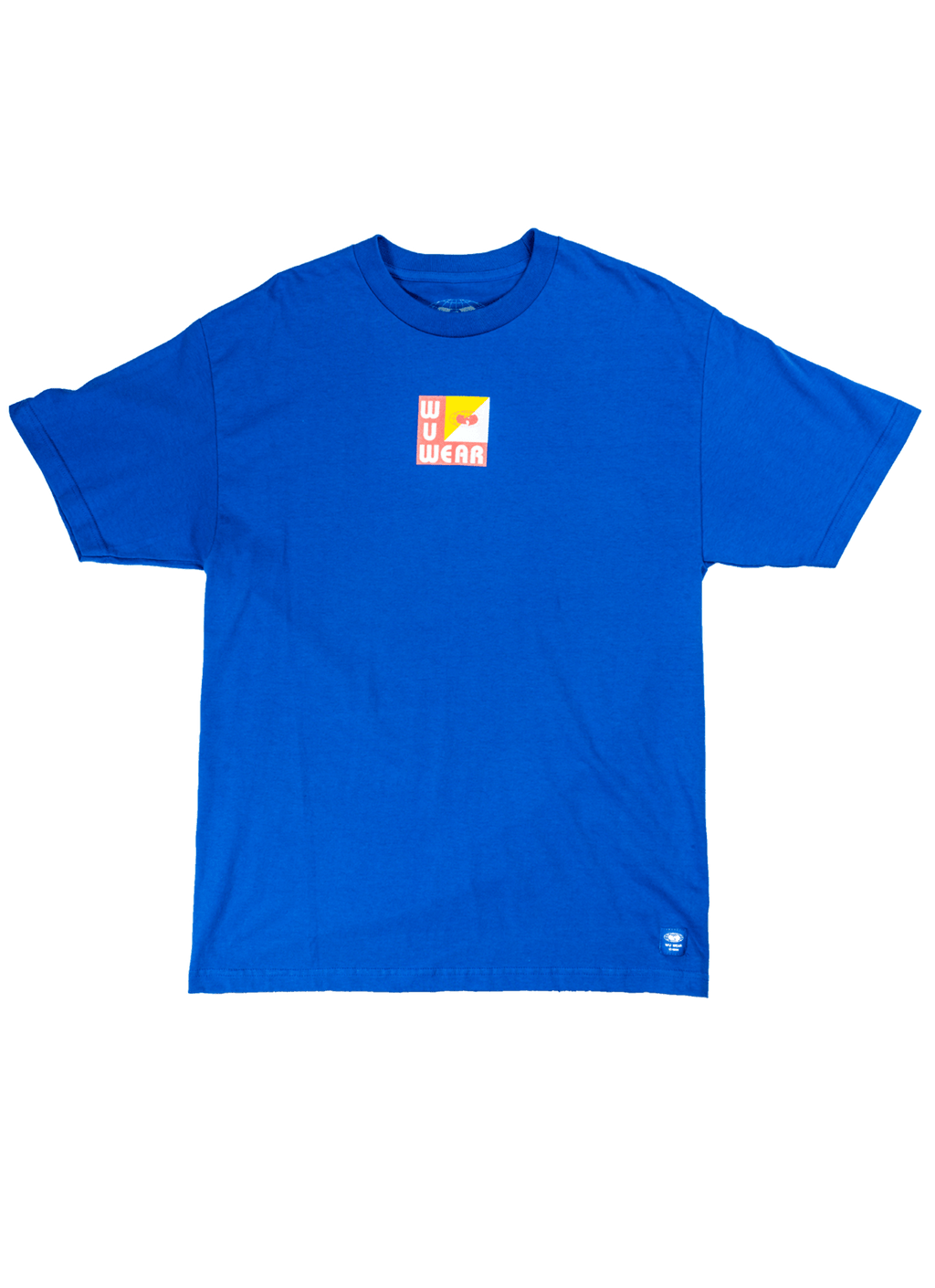 WU TANG BOX TEE -  BLUE - Wu Wear
