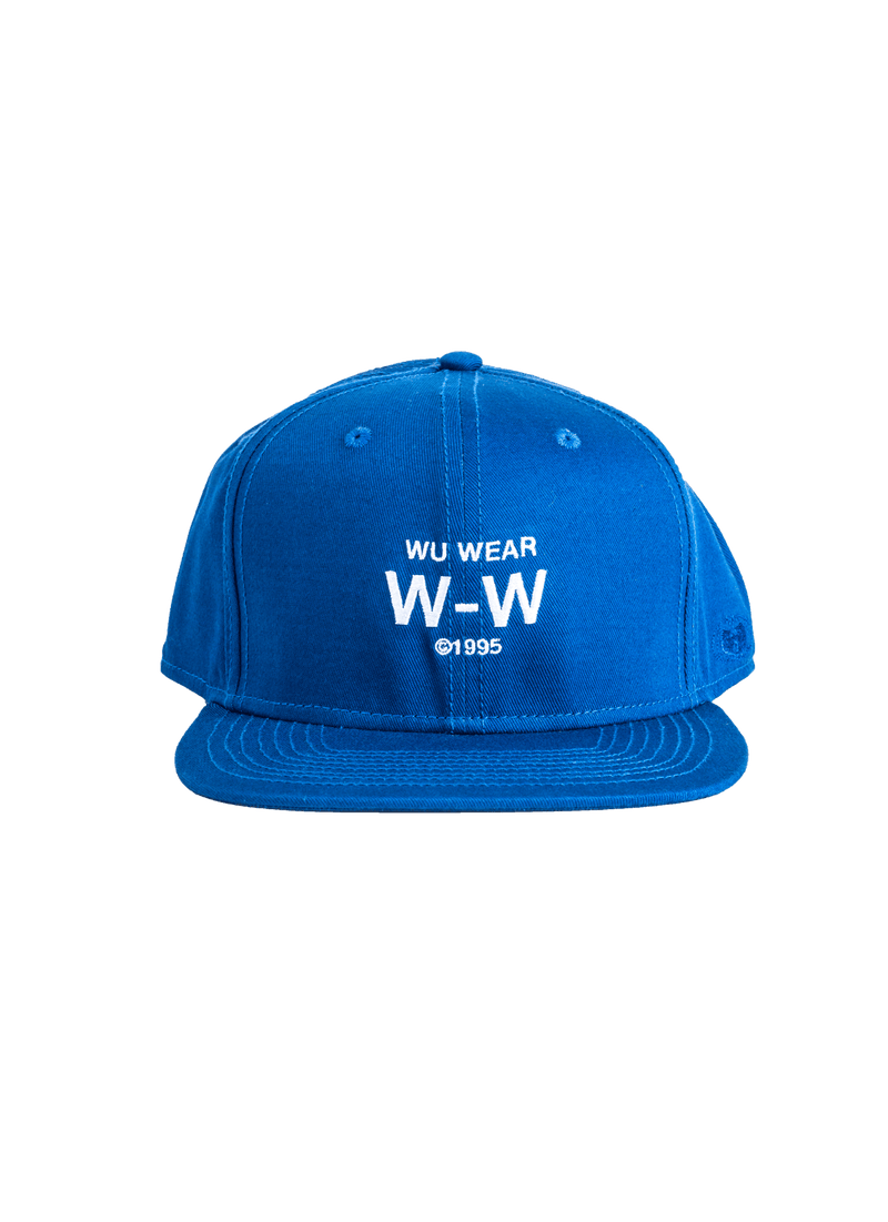 W-W SNAPBACK - BLUE - Wu Wear