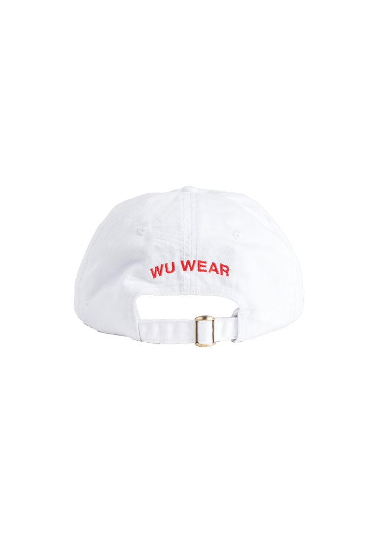 FOREVER WU WEAR HAT - WHITE - Wu Wear