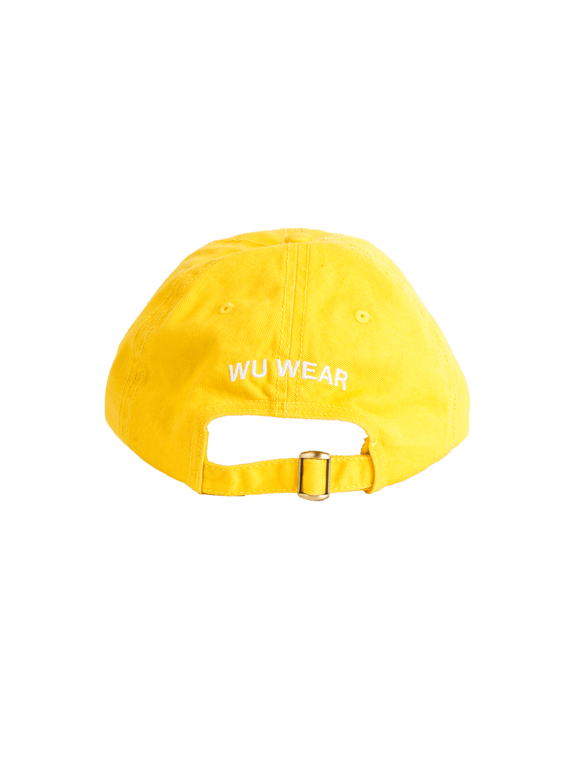 FOREVER WU WEAR HAT - YELLOW - Wu Wear