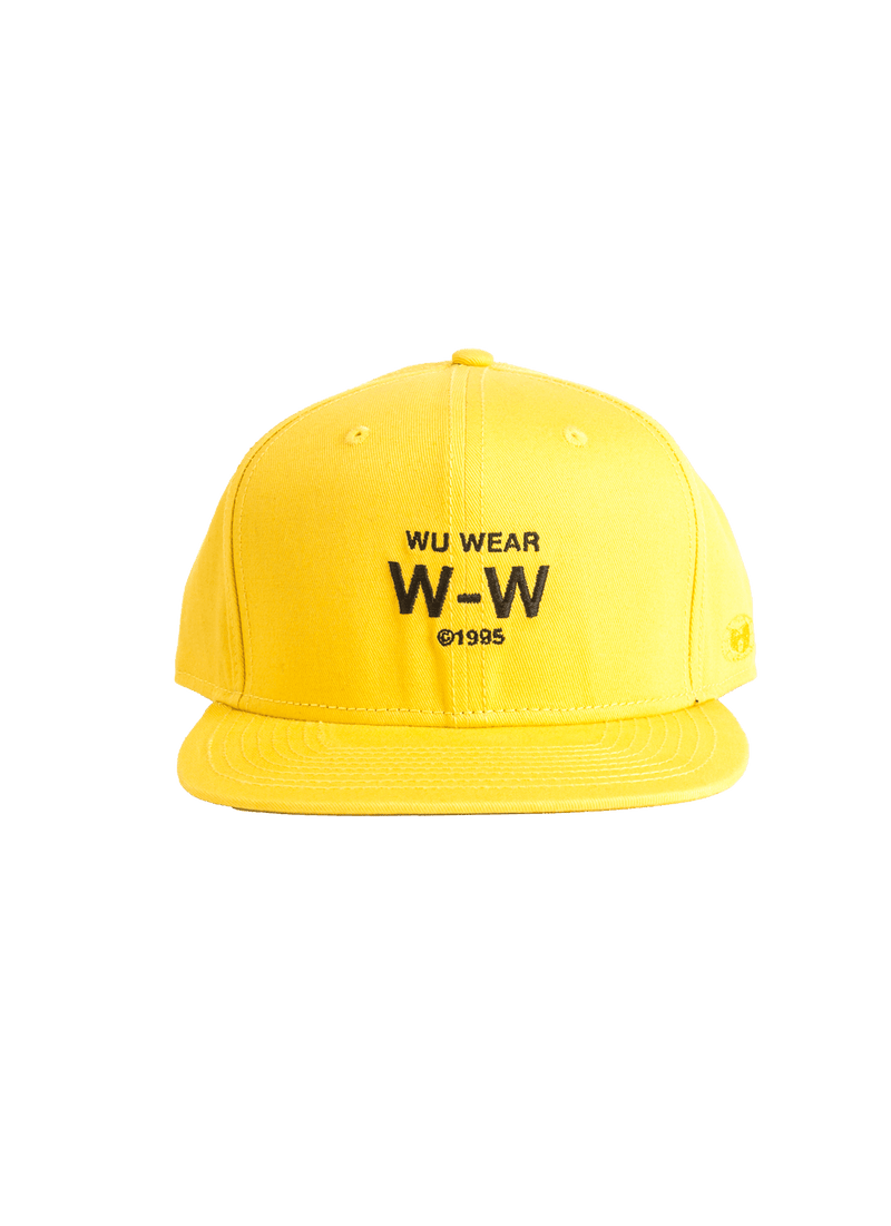 W-W SNAPBACK - YELLOW - Wu Wear