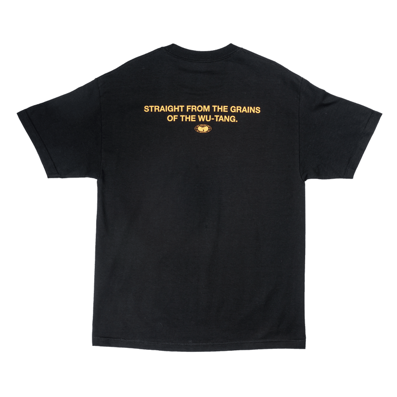 SHAOLIN TEE - BLACK - Wu Wear