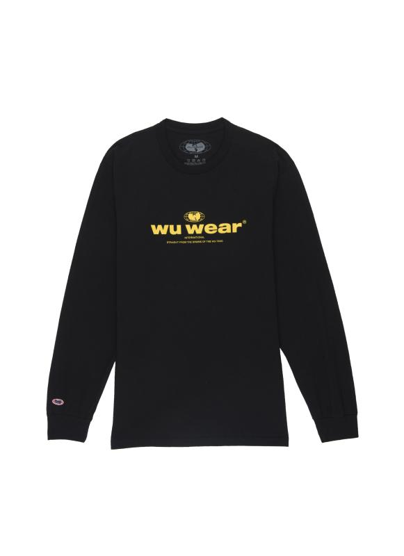 INTERNATIONAL LONG SLEEVE - BLACK - Wu Wear