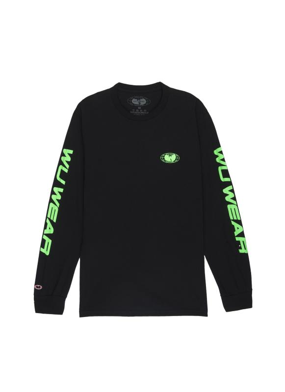 RACE LONG SLEEVE - BLACK - Wu Wear