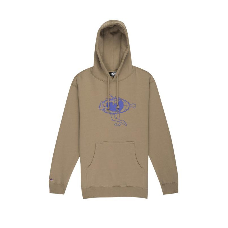 CARTOON HOODIE - SAND - Wu Wear