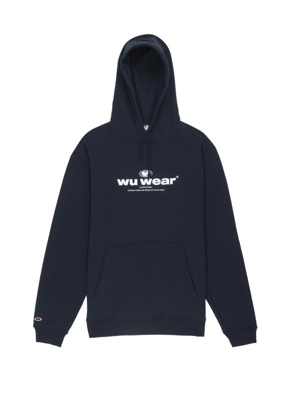 INTERNATIONAL HOODIE - NAVY - Wu Wear