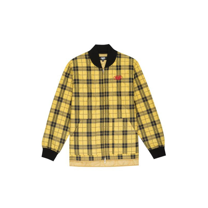 GLOBAL WORK JACKET - PLAID - Wu Wear