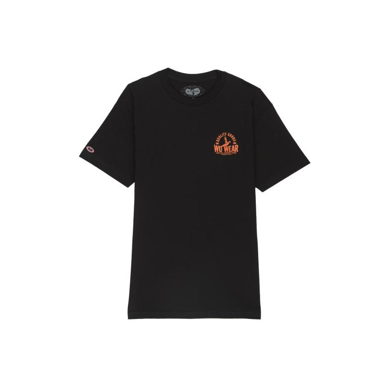 QUALITY GOODS TEE - BLACK - Wu Wear