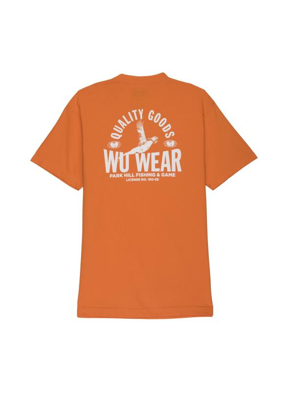 QUALITY GOODS TEE - ORANGE - Wu Wear