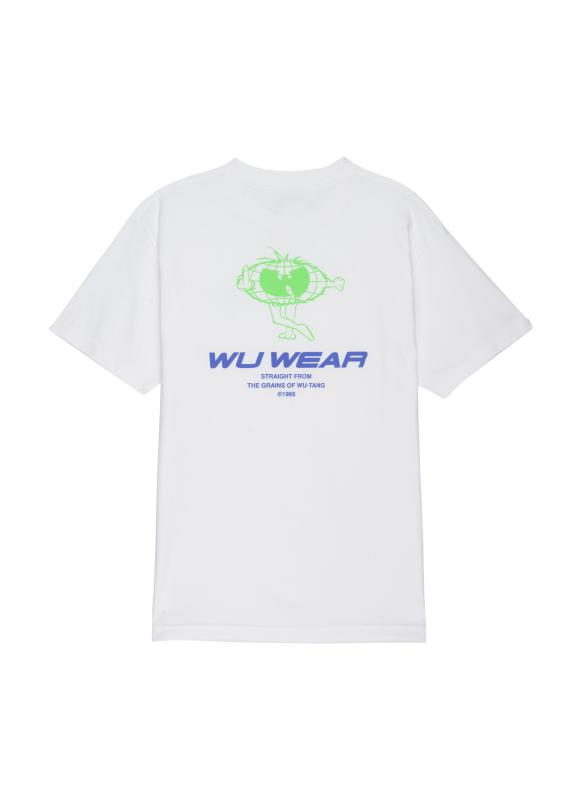 GRAINS CARTOON TEE - WHITE - Wu Wear