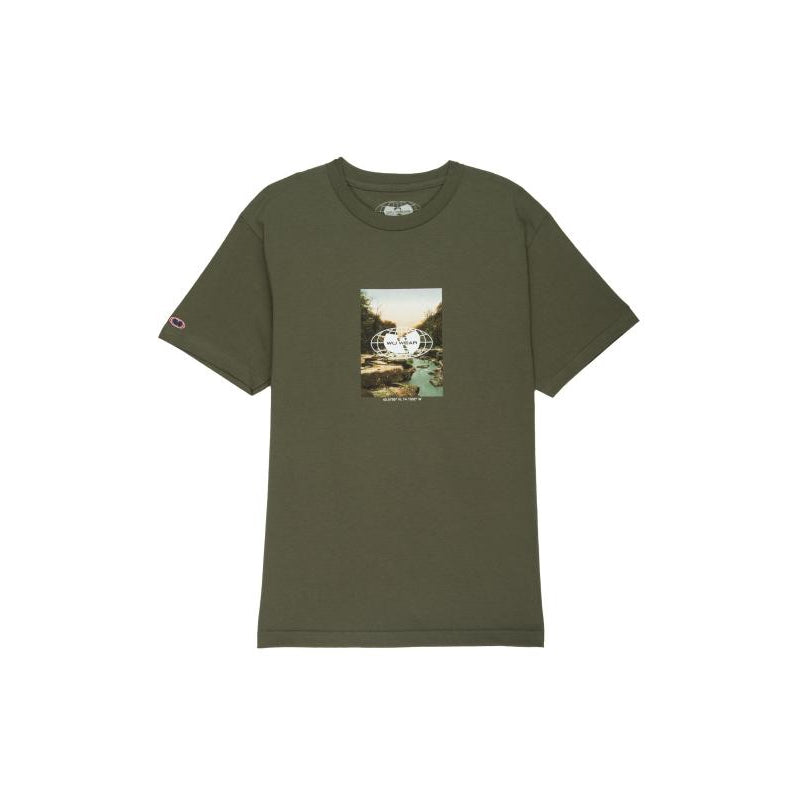 LATITUDE TEE - GREEN - Wu Wear
