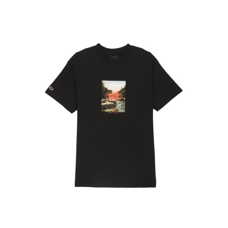 LATITUDE TEE - BLACK - Wu Wear