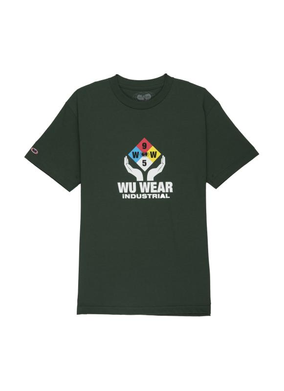 INDUSTRIAL TEE - GREEN - Wu Wear
