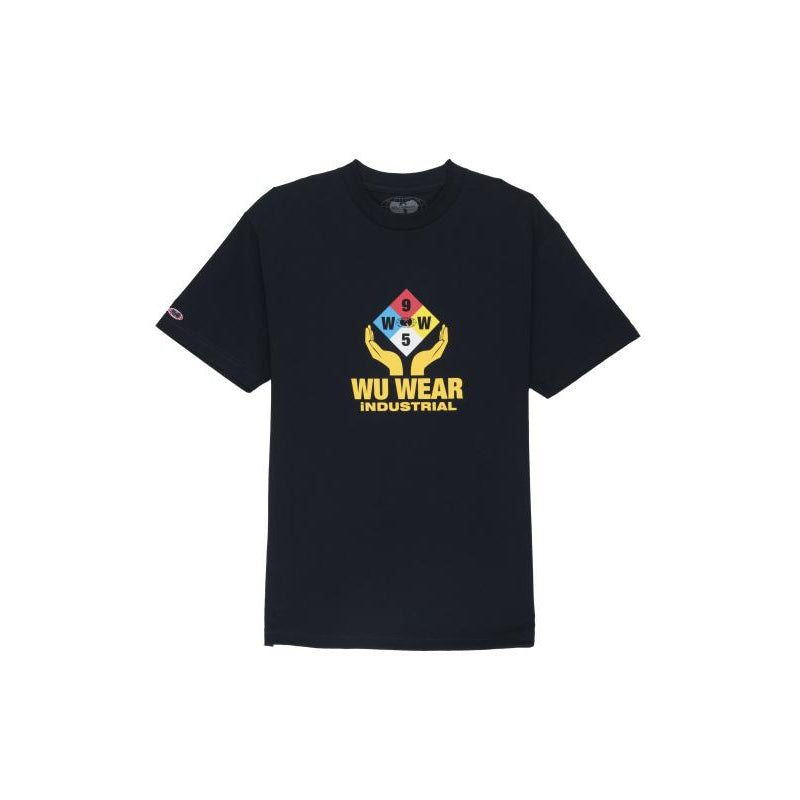 INDUSTRIAL TEE - NAVY - Wu Wear