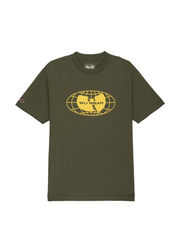 LOGO TEE - MILITARY GREEN - Wu Wear