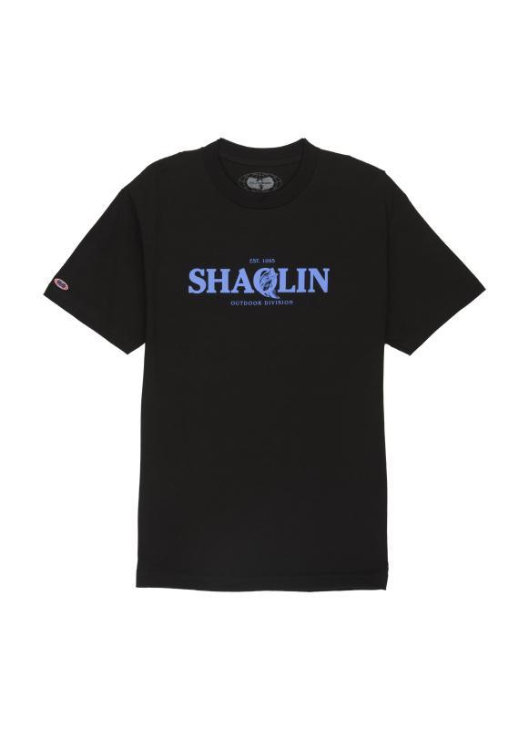 SHAOLIN OUTDOOR TEE - BLACK - Wu Wear