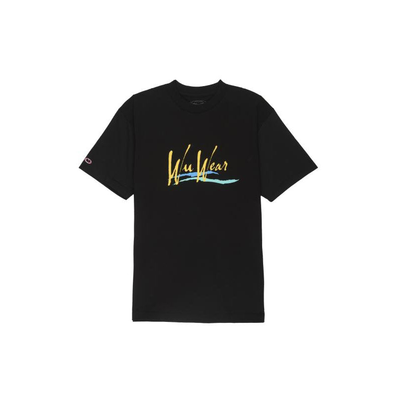 WU WAVE TEE - BLACK - Wu Wear