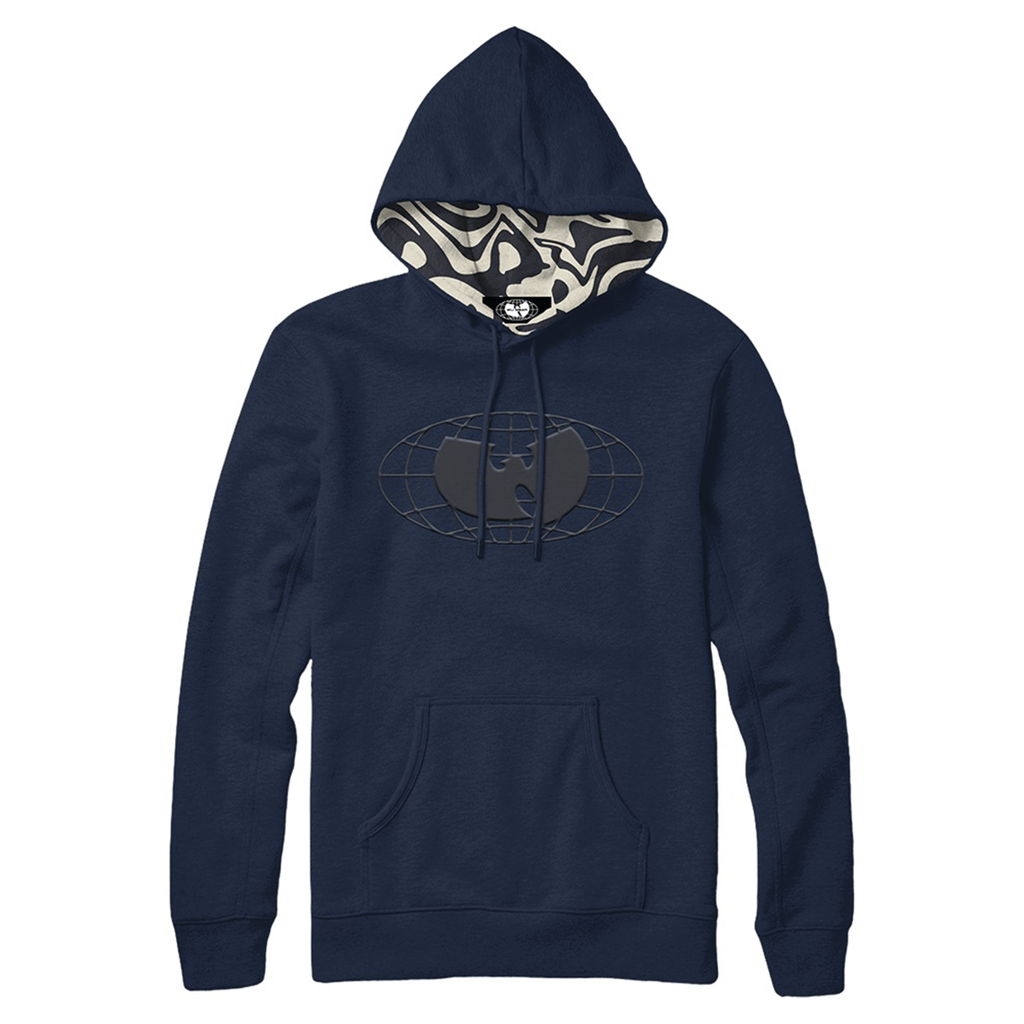 Blue and Cream Hoodie - Wu Wear