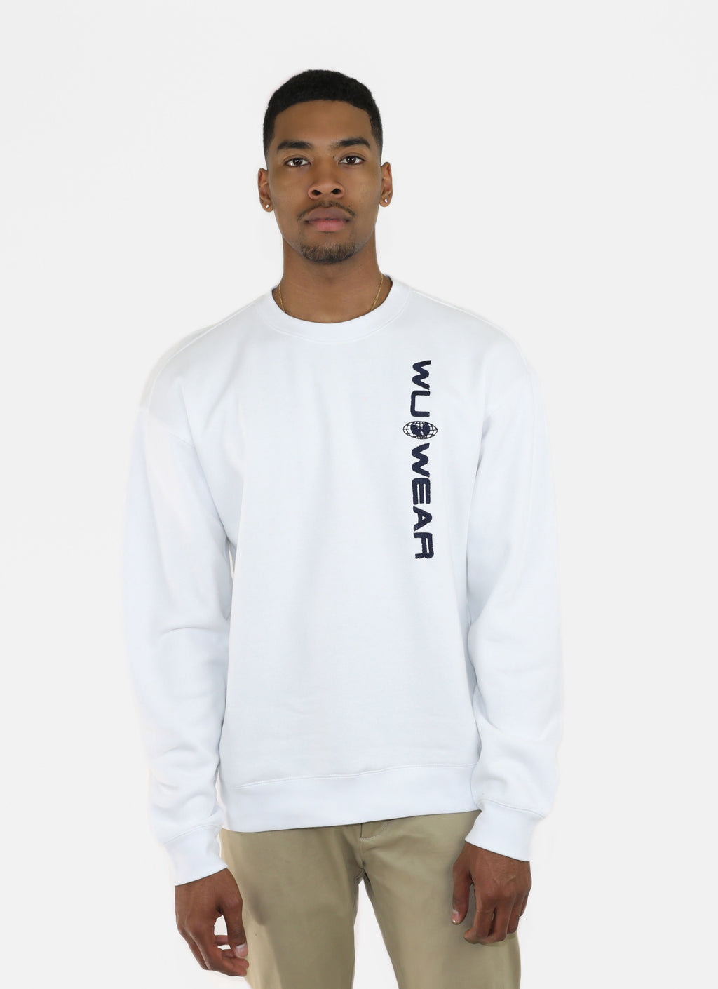 WU WEAR OG CREW - WHITE - Wu Wear
