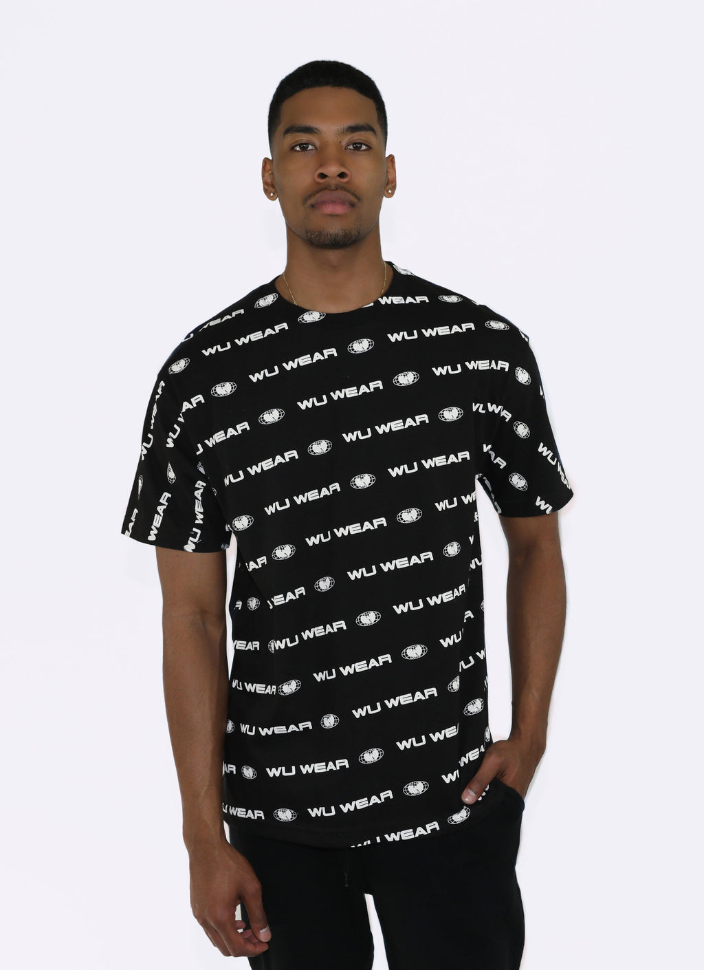 CITY TEE - BLACK - Wu Wear