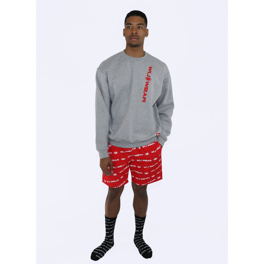 THE CITY SHORTS - RED - Wu Wear