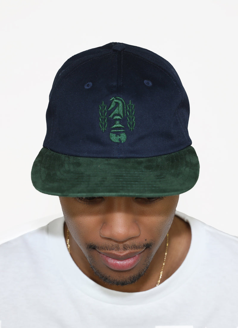 CHESSBOXING FORMLESS CAP - GREEN - Wu Wear