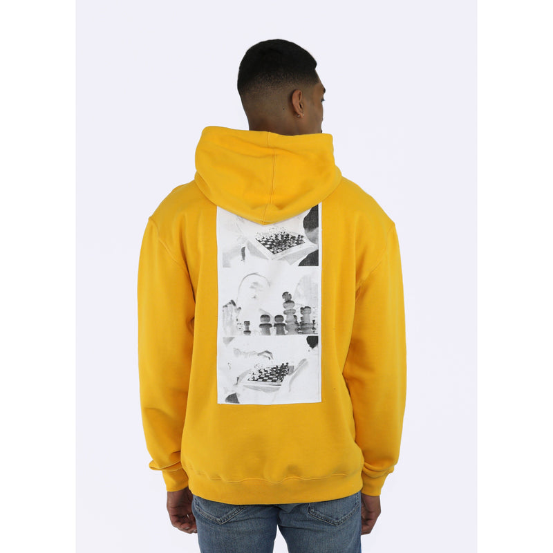 CHESSBOXING HOODIE - GOLD - Wu Wear