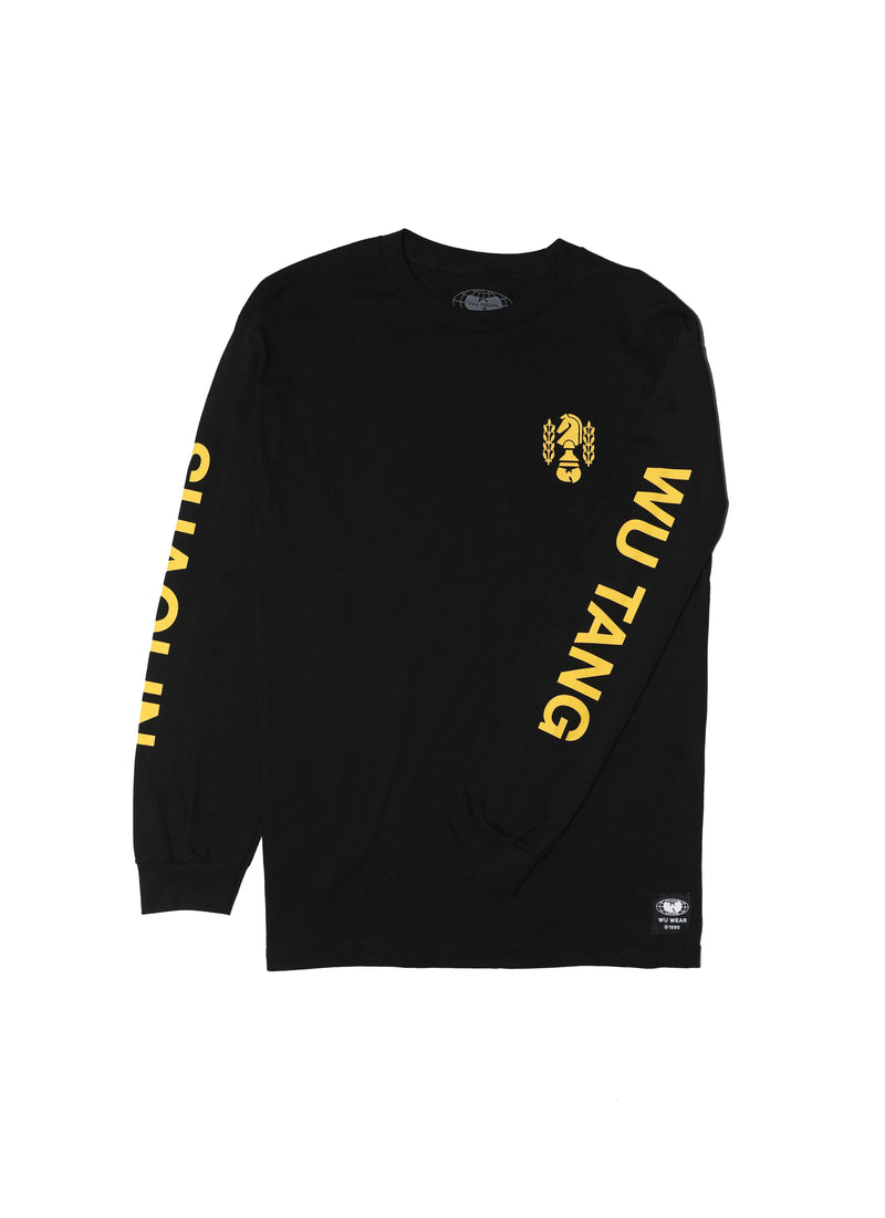 CHESSBOXING LONG SLEEVE - BLACK - Wu Wear