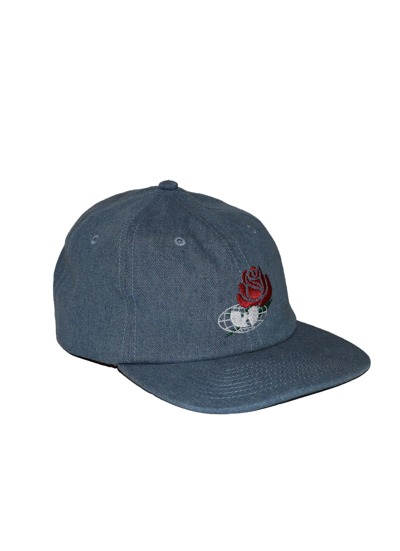 TRIUMPH FORMLESS CAP - WASHED DENIM - Wu Wear