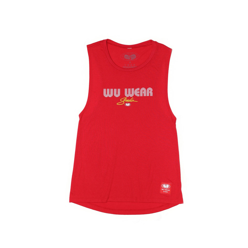 MGM TANK - RED - Wu Wear