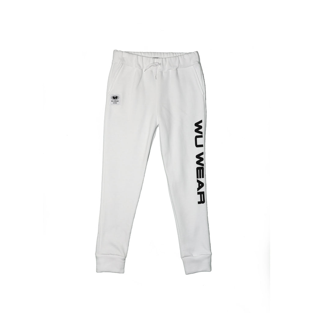 WU WEAR JOGGER - WHITE - Wu Wear