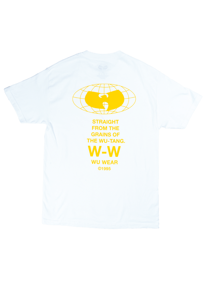 WU TANG LOG LS TEE -  BLACK