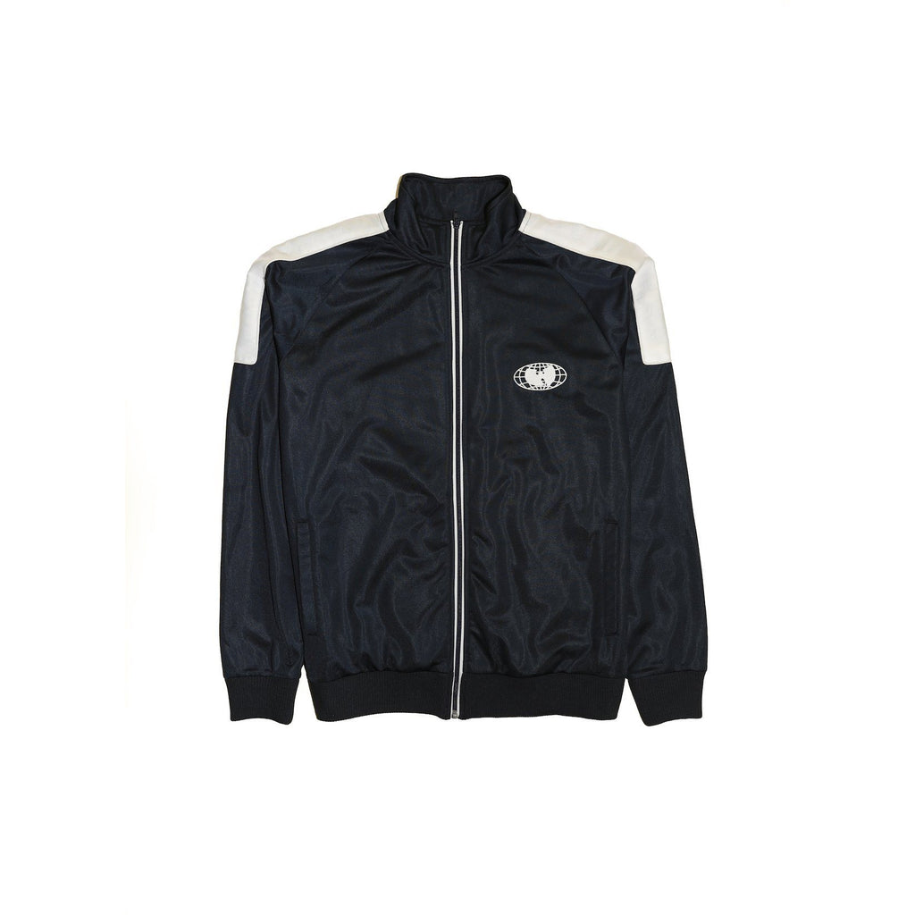RE UNITED TRACK JACKET - NAVY - Wu Wear