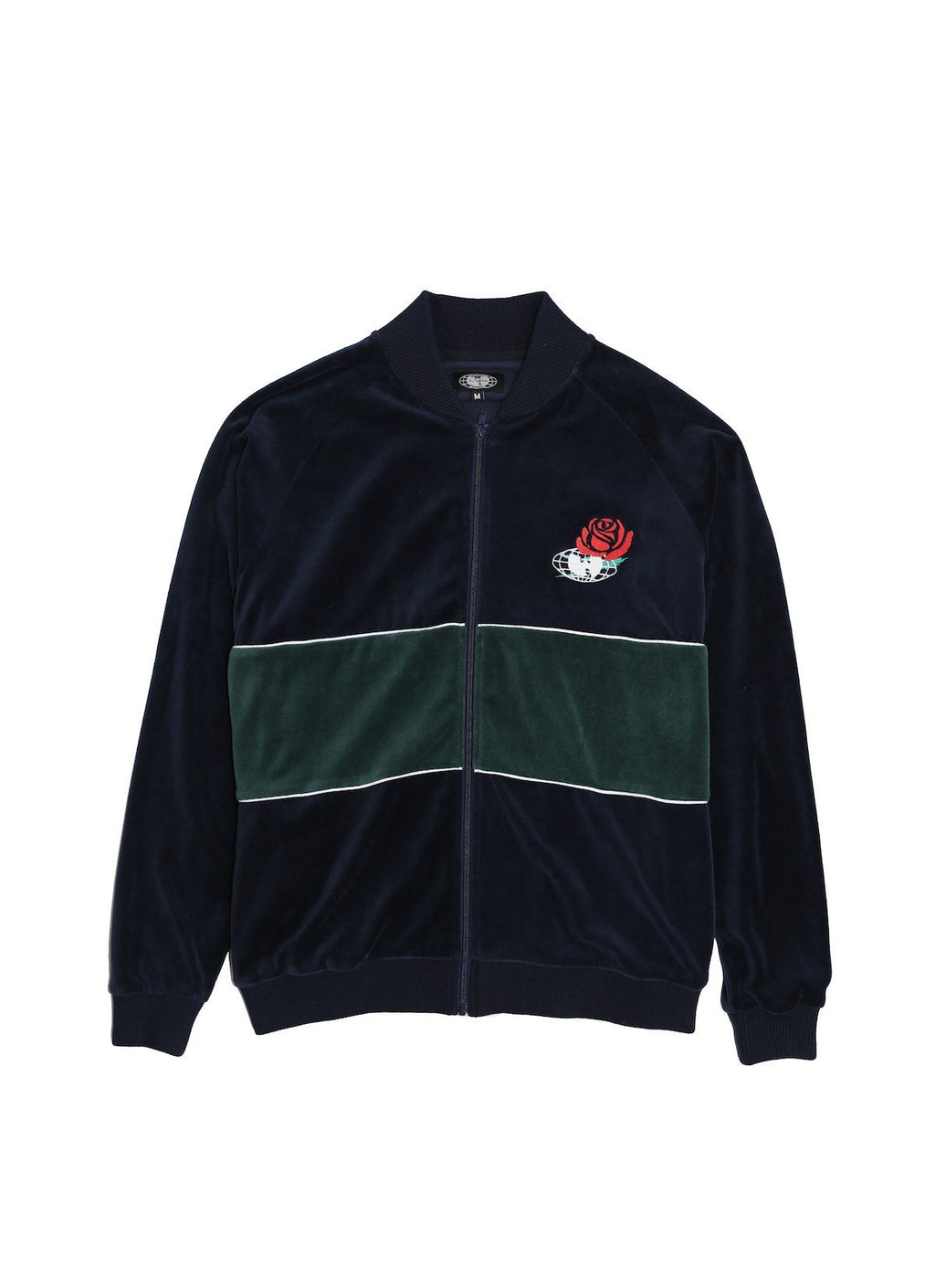 TRIUMPH TRACK JACKET - NAVY - Wu Wear