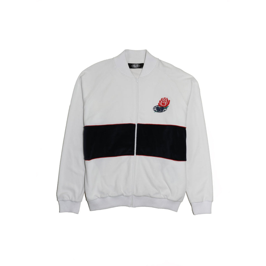 TRIUMPH TRACK JACKET - WHITE - Wu Wear