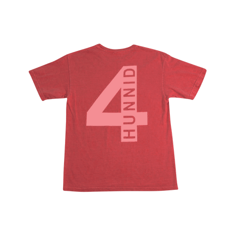 4Hunnid Hit Up Tee - Red - 4Hunnid