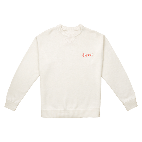 Merino Wool Sweater - Cream 4Hunnid