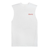 MPG Cut Off Tee, White - 4Hunnid