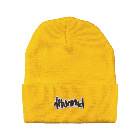 a77def23a16 Yellow Beanie.  34.95. Members Only Box - 4Hunnid