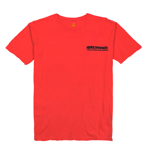 Bail Bonds Tee - Red