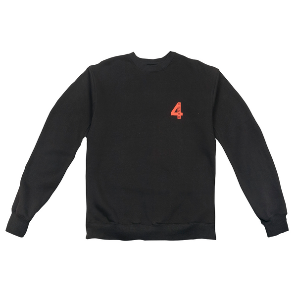 New Years Resolution Crewneck Fleece - Black