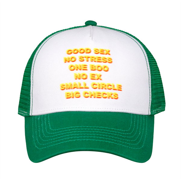 Good Sex Trucker Hat - Green