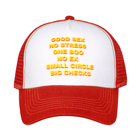 Good Sex Trucker Hat - Red