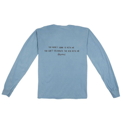 Down 10 Hit Up Long Sleeve - Ice Blue