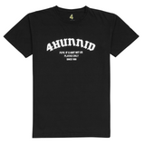 Aint Wit Us Tee, Black - 4Hunnid